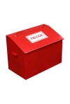Ящик пожарный для песка 0,1 куб.м. (металлический)